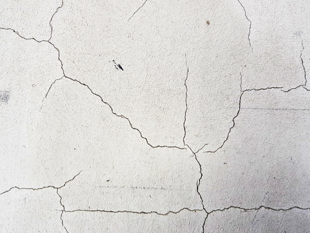 Photo pour beautiful cracks in concrete or plaster in cracks - image libre de droit