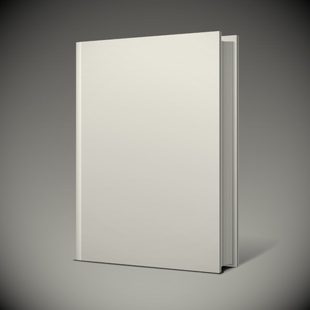 Illustration for Blank book cover - Royalty Free Image
