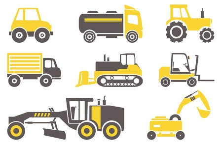Construction machines  Set for you design
