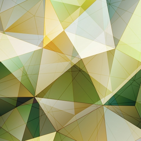 Color Triangle Abstract Background. Vector Pattern of Geometric Shapes
