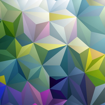 Colorful Triangle Geometric