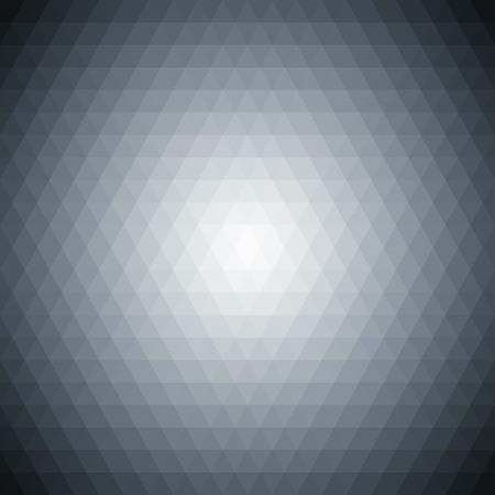 Multicolored polygonal pressed golf ball pattern background. Geometric wattled retro mosaic.