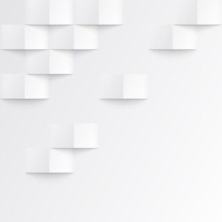 Ilustración de White seamless geometric texture. interior polygonal wall panel pattern. - Imagen libre de derechos