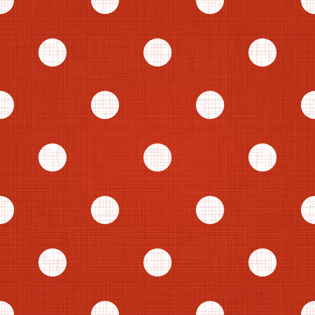 Spotted pattern. Vector seamless spotted pattern background. Linen spotted textile pattern. Polka dot pattern
