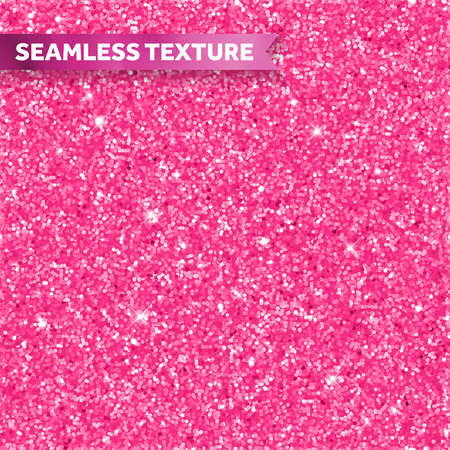 Illustration pour Pink glitter texture background - image libre de droit