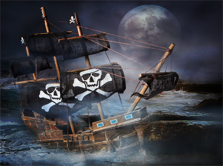 Pirate Gost Ship