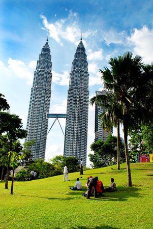 Photo pour Petronas twin towers - image libre de droit