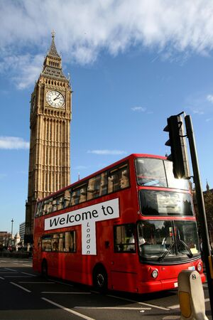 welcome to london, double decker, big ben