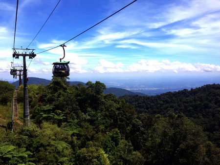 This is a view from the Genting Highlands. Cool breeze and refreshing air is one of the attraction there. Awesome place to relax.