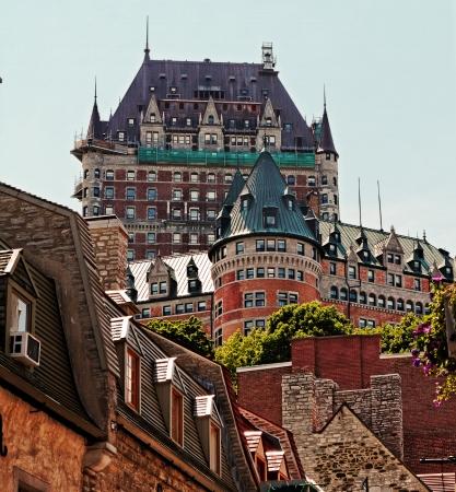Fairmont Chateau Frontenac Quebec City Canada