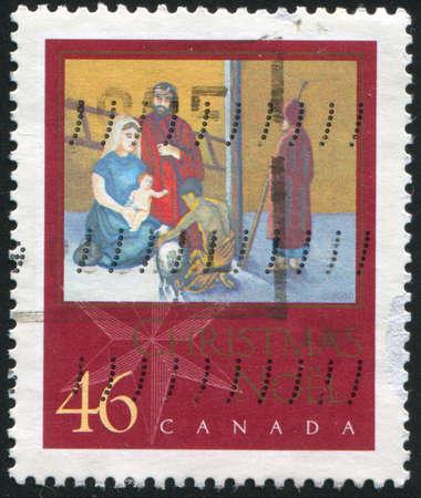 CANADA - CIRCA 2000: stamp printed by Canada, shows Christmas, circa 2000