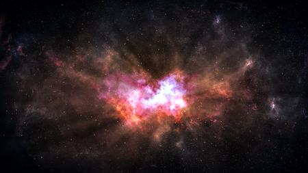 Foto de Universe filled with stars, deep space nebula and galaxy - Imagen libre de derechos