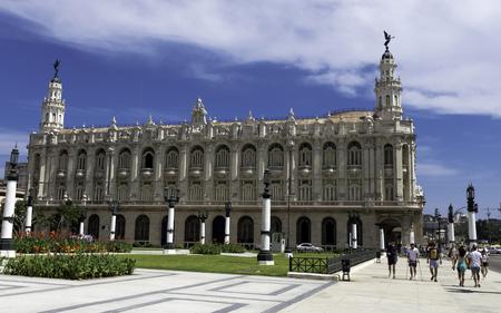 Great Theatre of Havana / Gran Teatro de La Habana Alicia Alonso in Paseo del Prado, Havana, Cuba