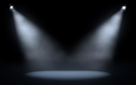 stage spotlights background
