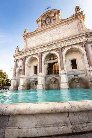 Foto per The Fontana dellAcqua Paola - Immagine Royalty Free