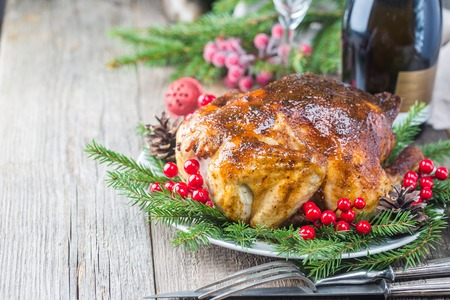 Chicken or turkey for Christmas