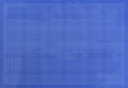 Illustration pour Wide blueprint background texture. Vector illustration. 10 line per square - image libre de droit