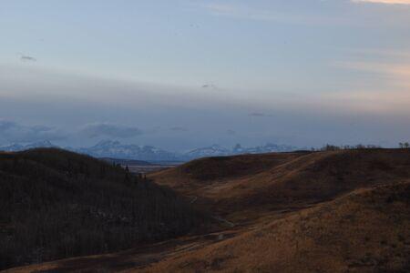 Prairies Landscapes in Winter