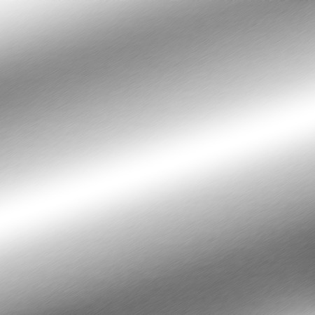 Photo for silver background metal texture with oblique line of light - Royalty Free Image