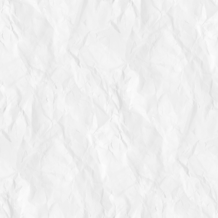 old crumpled paper texture white background seamless pattern