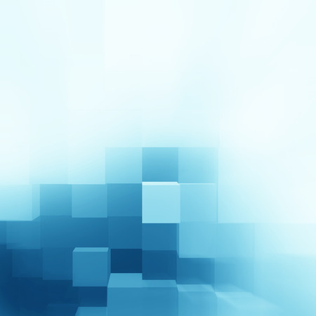 blue abstract cubes background texture pattern