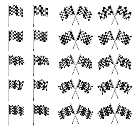 Checkered Flag, Chequered Flags Motor Racing