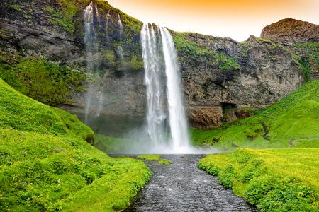 Seljandsfoss waterfall, Iceland
