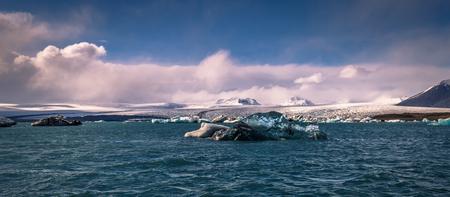 Iceberg lagoon of Jokulsarlon, Iceland