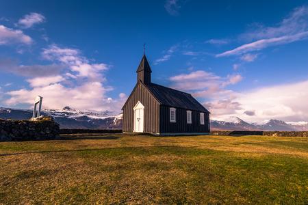 Budakirkja church in Snaefellsjoekull national park, Iceland