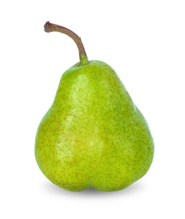 Photo pour Pear fruit on white background - image libre de droit