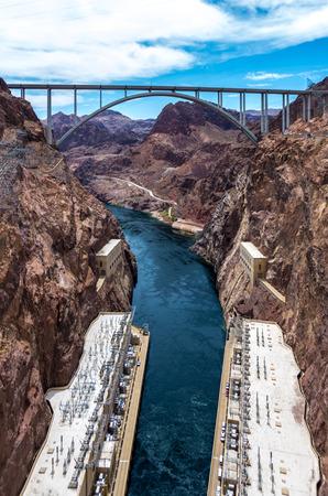 Colorado River Bridge - Bypass for the Hoover Dam