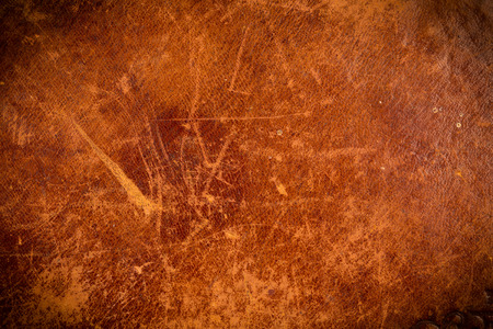 Photo pour Grunge and old leather texture with dark edges - image libre de droit