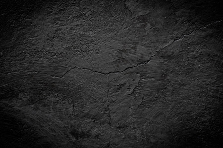 Photo for black cracked texture can be used for background - Royalty Free Image