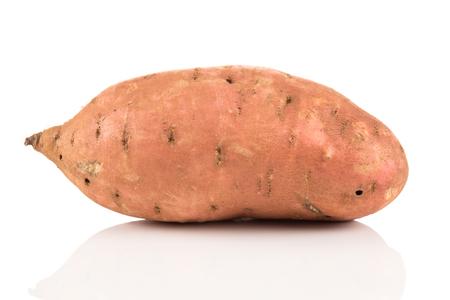 Photo pour Sweet potato batata on the white background isolated - image libre de droit