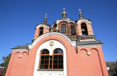 church on sky background