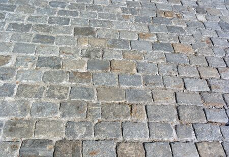 Photo for Cobblestone Pavement - Royalty Free Image