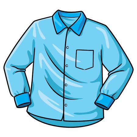 Illustration pour Shirt Cartoon - image libre de droit