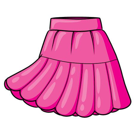 Skirt Cartoon