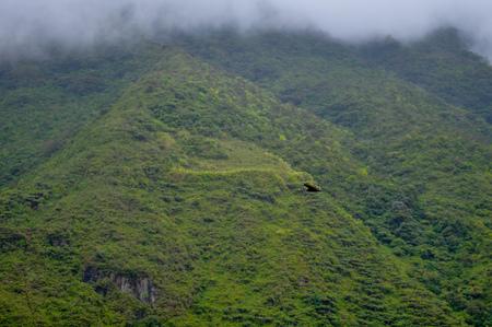 Landscape in Banos de Agua Santa, Ecuador
