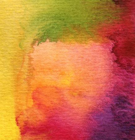 Vivid Watercolor Wash