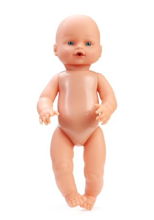 baby doll isolated in white