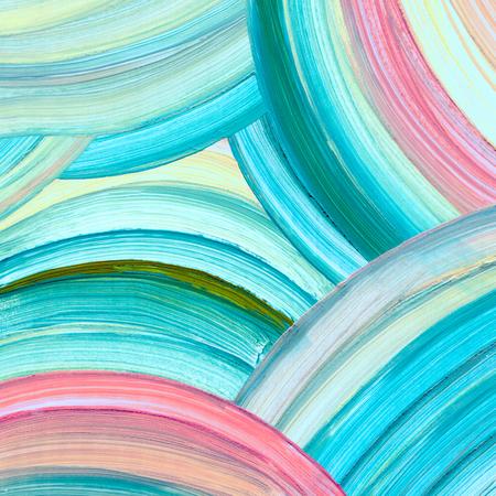 Photo pour Abstract acrylic painting background - image libre de droit