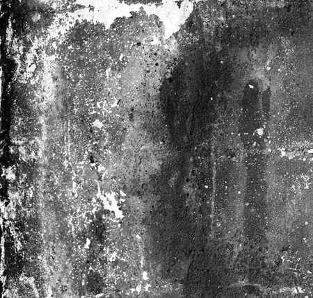 Photo pour Black and white empty grunge dirty  brush stroke concrete wall. Abstract background. - image libre de droit