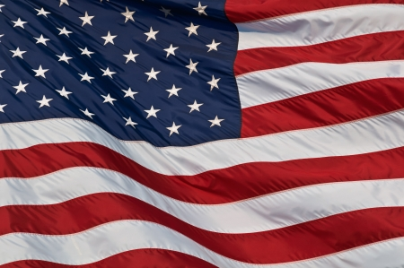 United States of America flag  Image of the american flag flying in the wind