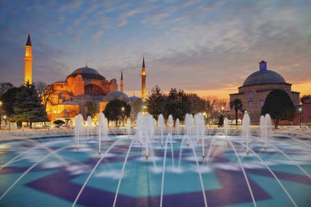 Photo for Istanbul. Image of Hagia Sophia in Istanbul, Turkey. - Royalty Free Image