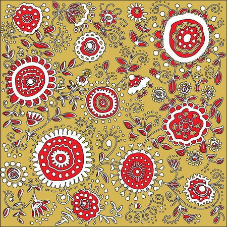 decorative background with colors of red and white colors