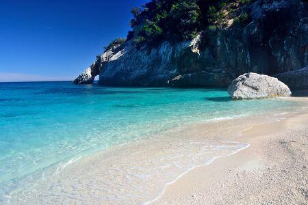 Foto per Beach of Cala Goloritz - Immagine Royalty Free