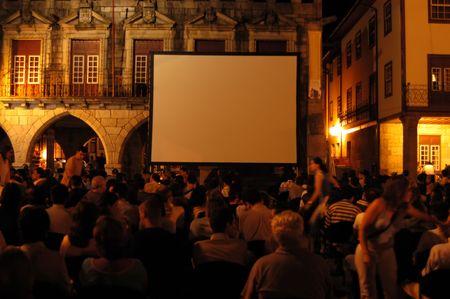 cinema on the street