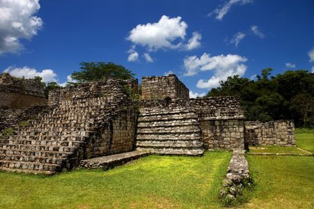Ancient Maya city of Ek Balam Yucatan Mexico