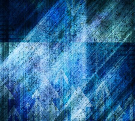 Blue Vintage Style Background